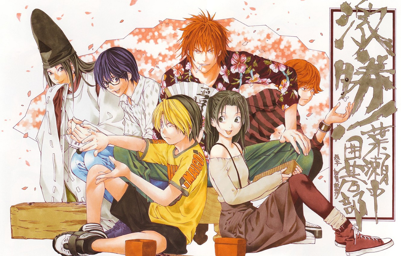 Фото обои мальчики, Персонажи, Hikaru no Go, Хикару и го