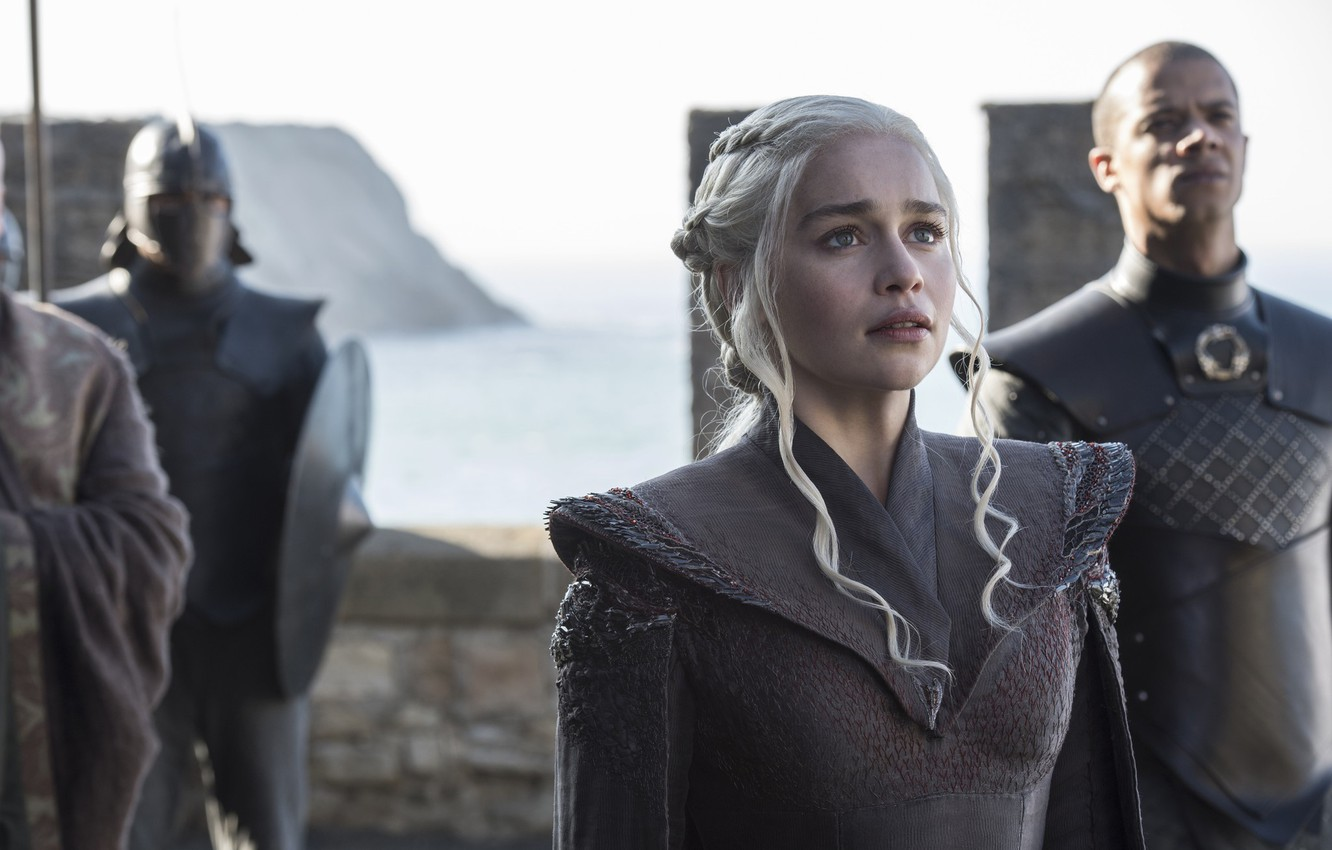 Фото обои army, A Song of Ice and Fire, Game of Thrones, blonde, queen, Emilia Clarke, Daenerys …