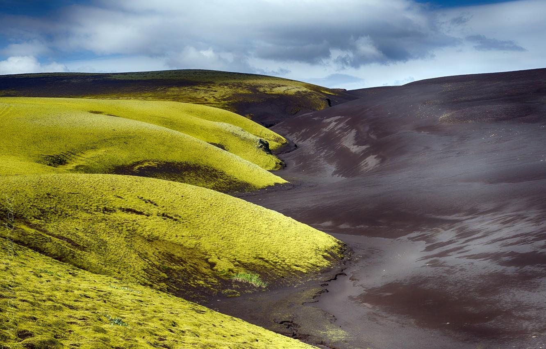 Фото обои природа, Iceland, Vestur-Skaftafellssysla