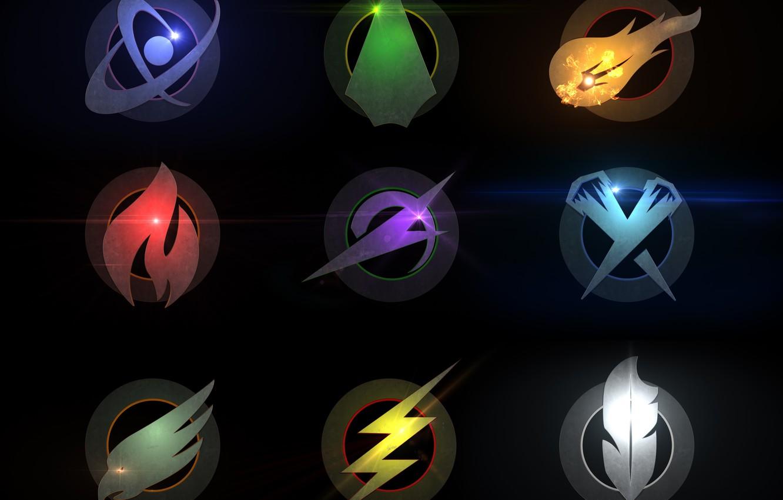Фото обои logo, DC, Legends Of Tomorrow, tv shows