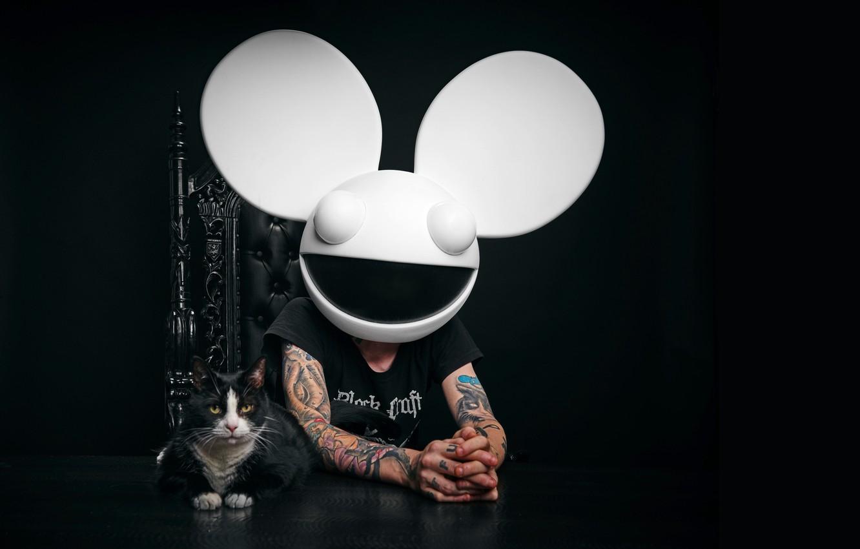 Фото обои татуировки, диджей, Deadmau5, EDM, DJ