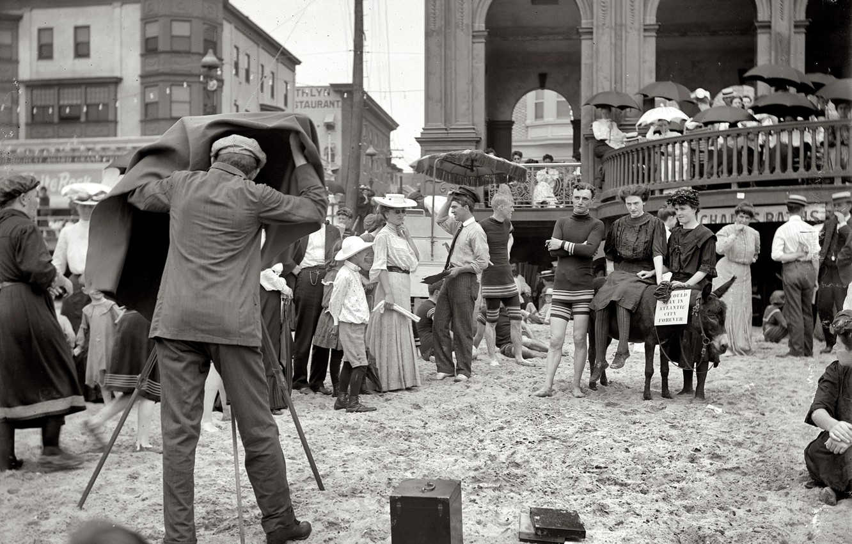 Обои досуг, сша, 1912-й год, люди, фотограф, отдых. Разное foto 6