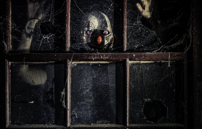 Обои маска, страх. Разное foto 8