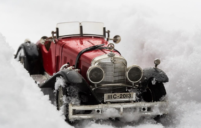 Фото обои машина, фон, Mercedes Benz