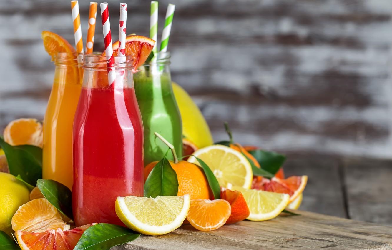 Обои апельсин, цитрусы, виноград, напиток, сок. Еда foto 13