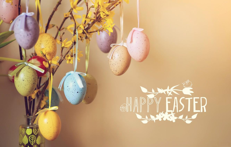 Фото обои праздник, весна, яица