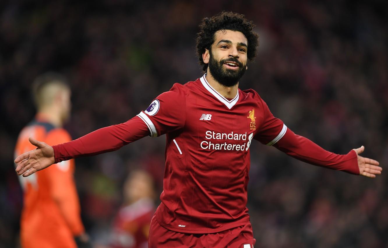 Фото обои wallpaper, sport, Egypt, stadium, football, Premier League, Liverpool FC, Anfield Road, LFC, Mohamed Salah, Salah