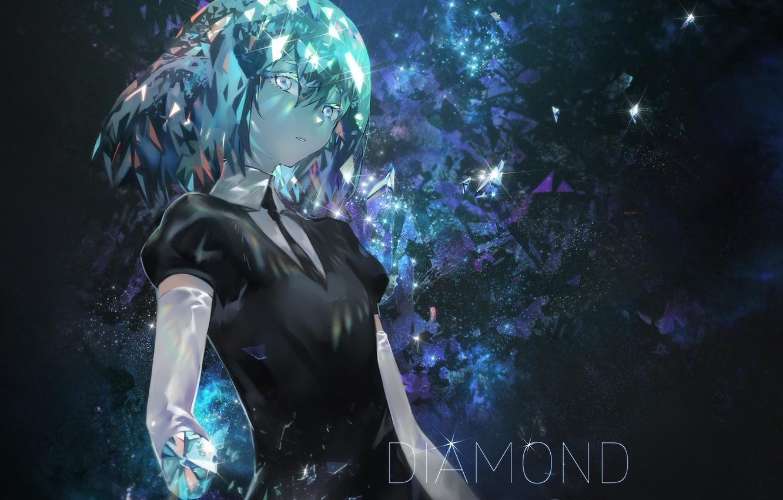 Фото обои девушка, diamond, Azomo
