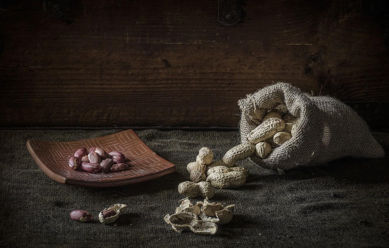 Фото обои арахис, бобовые культуры, Cacahuetes
