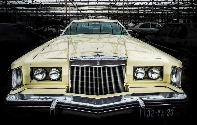 Фото обои машина, Lincoln, фон, Continental