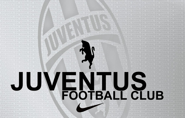 Фото обои буквы, зебра, серый фон, juventus_football_club