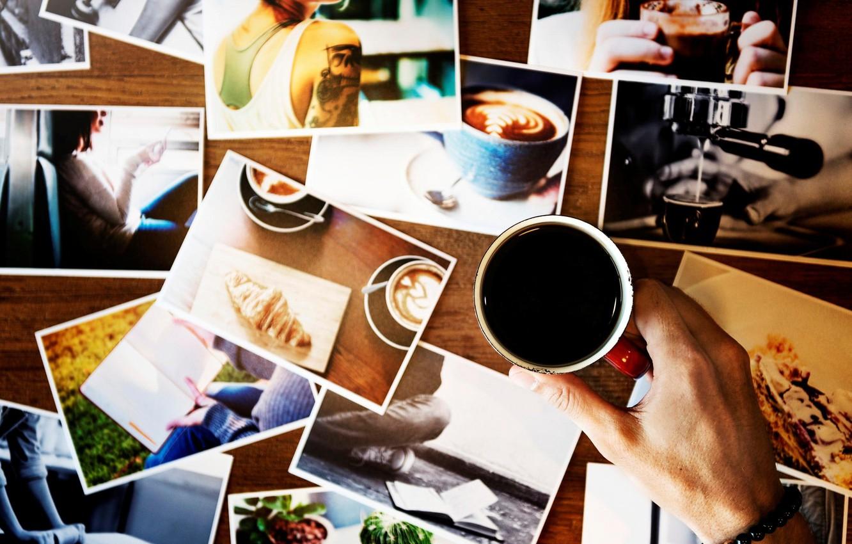 Фото обои фото, рука, кружка, браслет