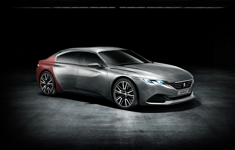Фото обои Concept, фон, концепт, Peugeot, пежо, background, Exalt