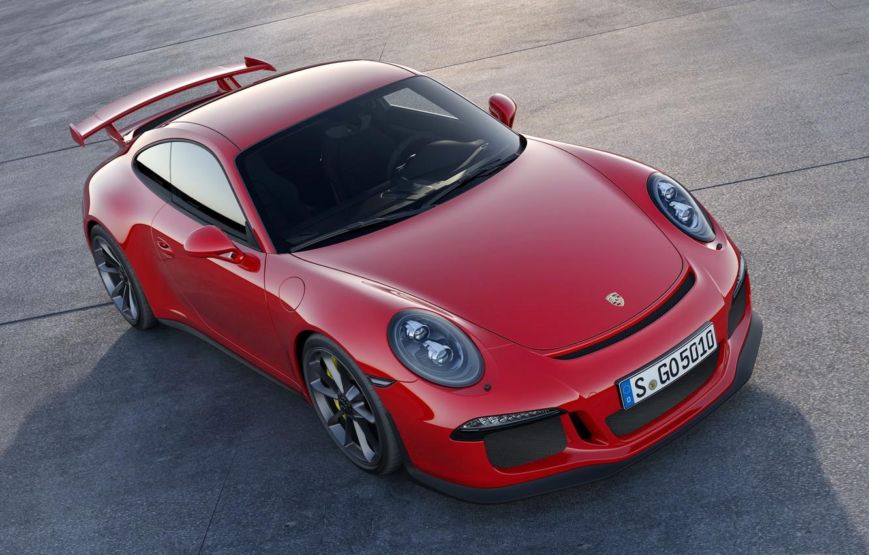 Фото обои купе, 911, Porsche, GT3