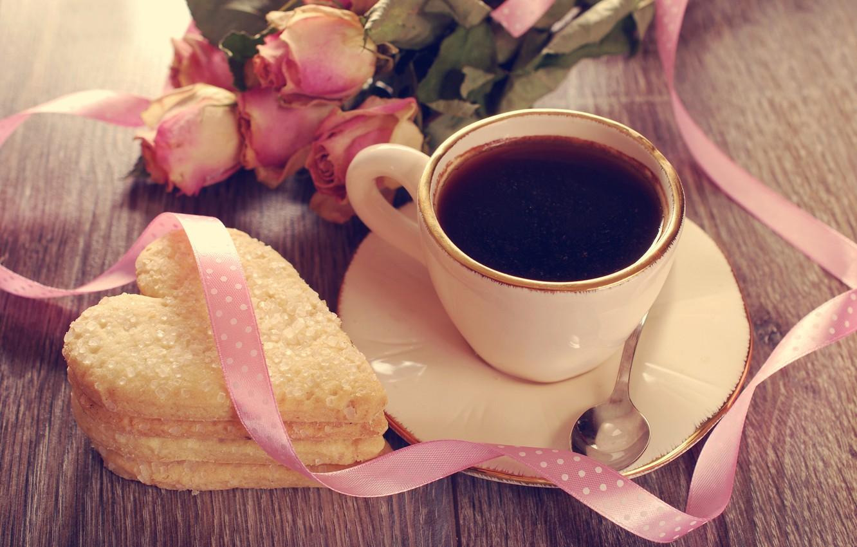 почему фото кофе розы и сердце раздаете