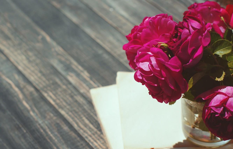 Фото обои vintage, wood, flowers, beautiful, пионы, purple, book, peony