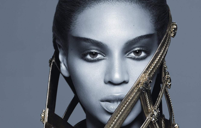 Фото обои портрет, певица, Beyonce