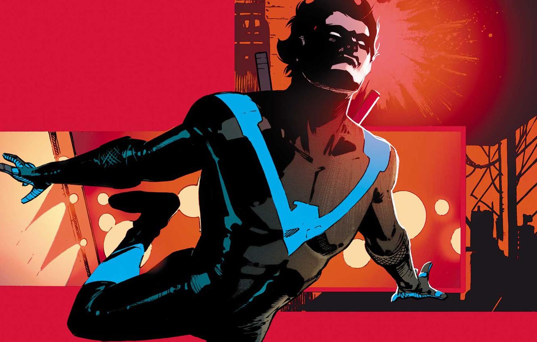 Фото обои Robin, DC comics, Dick Grayson, Nightwing
