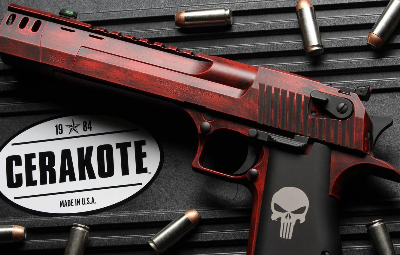 Фото обои пистолет, оружие, gun, weapon, кастом, Desert Eagle, Custom, Дезерт Игл, Ceracot