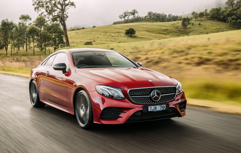 Фото обои купе, Mercedes-Benz, E-class, мерседес, AMG, Coupe, C238