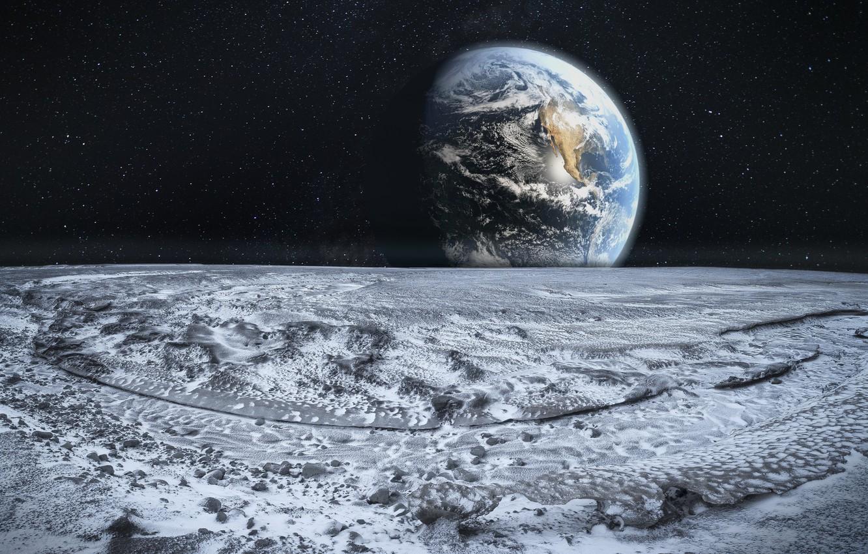 Обои поверхность, земля. Космос foto 14