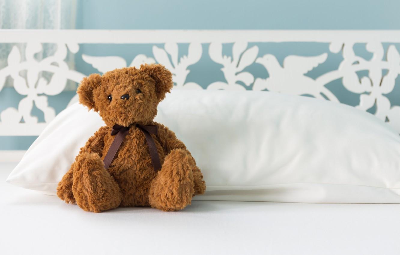 Обои little, Teddy, Медведь, bed, cute, мишка. Разное foto 12