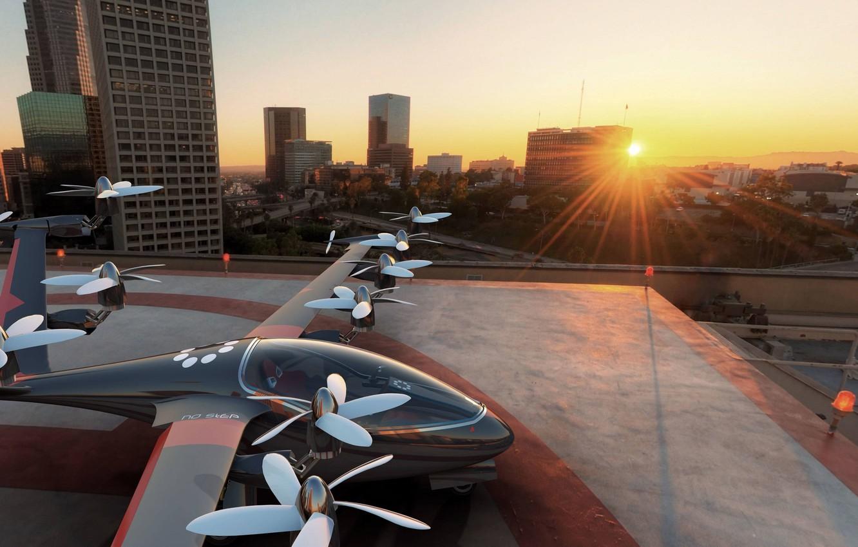 Обои Drone, aerial vehicle, concept, Joby S2. Авиация foto 6