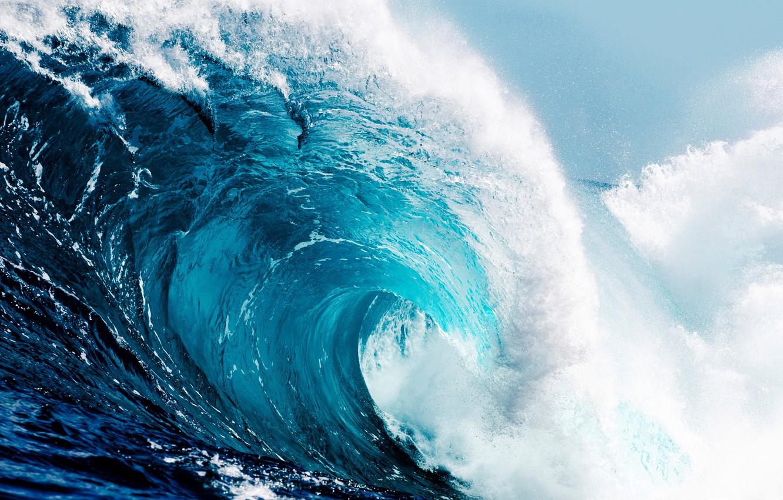 Фото обои океан, волна, wave