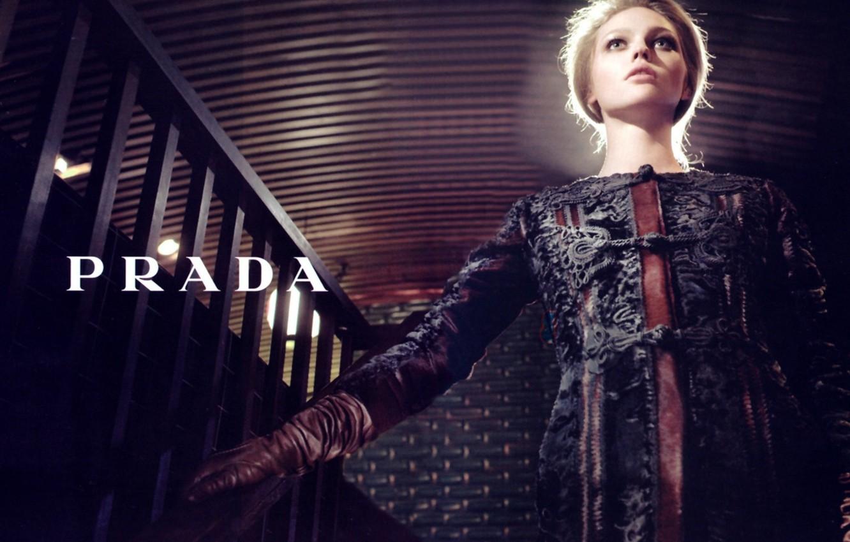 Фото обои Pivovarova, prada, _fashion, photography_sasha