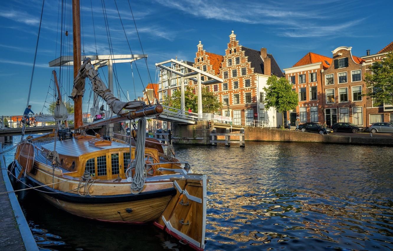 Обои нидерланды, Голландия, Haarlem. Города foto 18