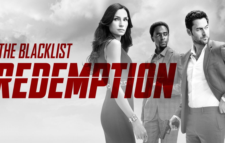 Фото обои Famke Janssen, NBC, TV show, Ryan Eggold, The Blacklist Redemption, Edi Gathegi