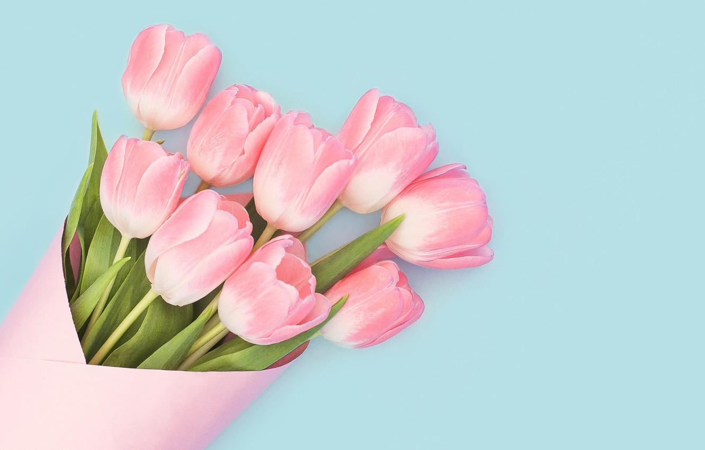 Продать старые, 8 марта открытки с пожеланиями и розовыми тюльпанами