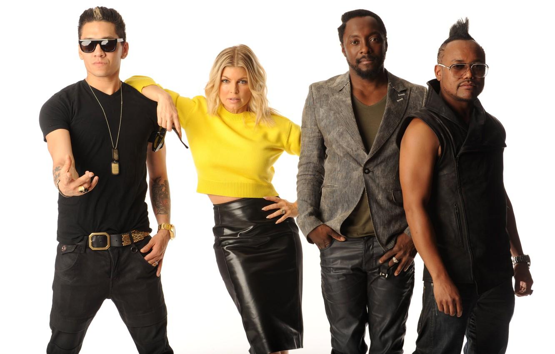 Фото обои Fergie, Taboo, will.i.am, apl.de.ap, The Black Eyed Peas
