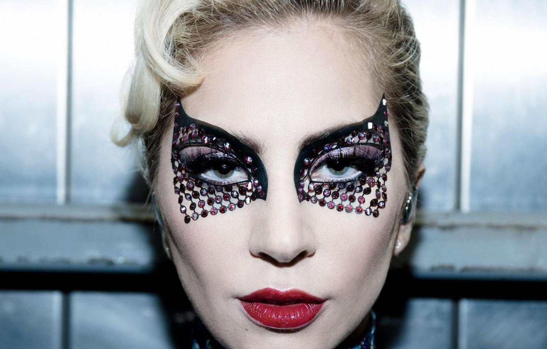 Фото обои певица, Lady Gaga, эпатаж