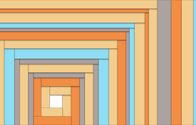Фото обои линии, серый, голубой, квадрат, бежевый, lines, cube, material design, horizontal lines, горизонтальные полосы