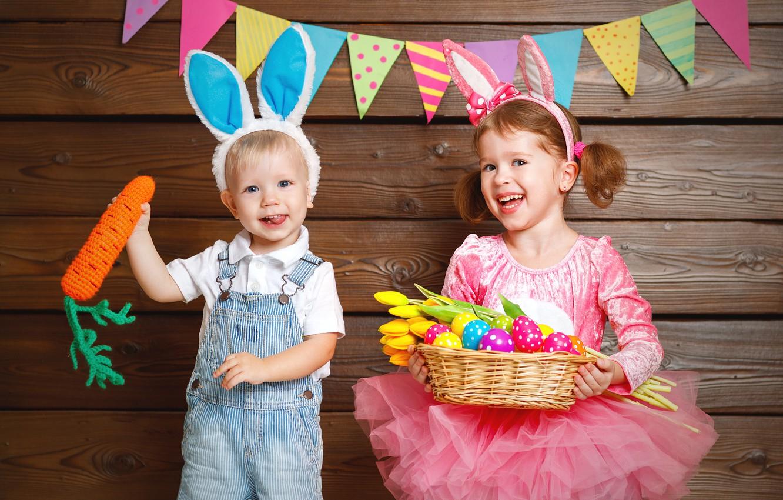 Обои подарок, Поздравление, Девочка, мальчик, дети. Настроения foto 11