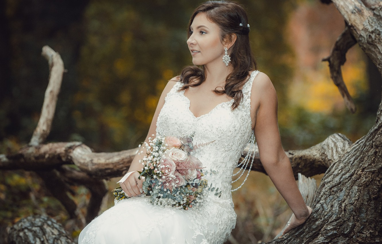 Фото обои любовь, праздник, платье, невеста, свадьба