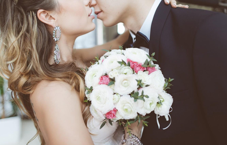 красивая пара фото невеста и жених пришлось отложить учебу