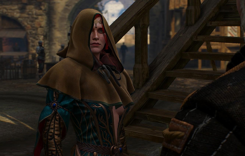 Фото обои чародейка, Трисс Меригольд, Triss Merigold, Ведьмак 3 Дикая Охота, The Witcher 3