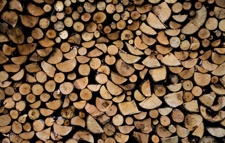 Обои дрова. Пейзажи foto 9
