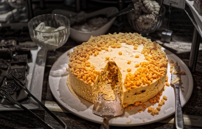 Фото обои еда, торт, украшение, пирожное, крем, десерт, сладкое