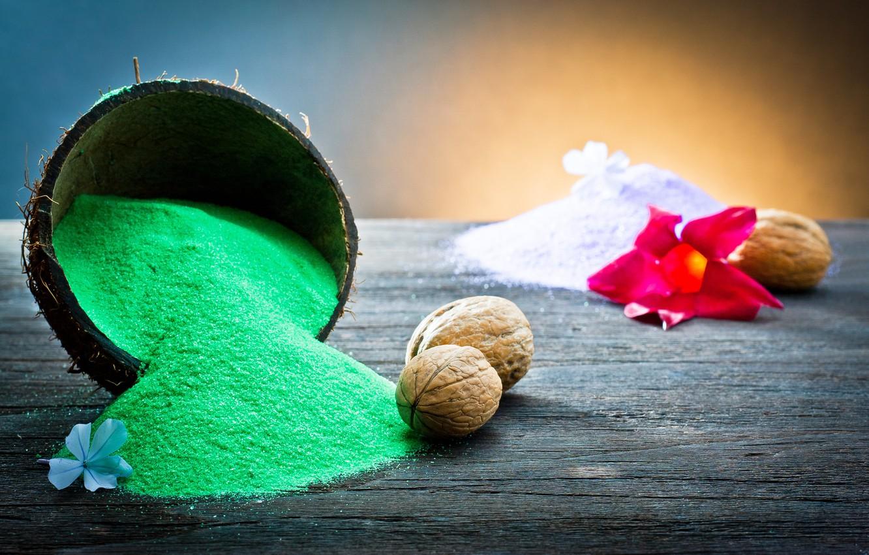 Фото обои песок, Спа, ароматерапия, Aromatherapy