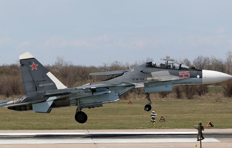 Обои двухместный, Су-30см, многоцелевой, российский. Авиация foto 18
