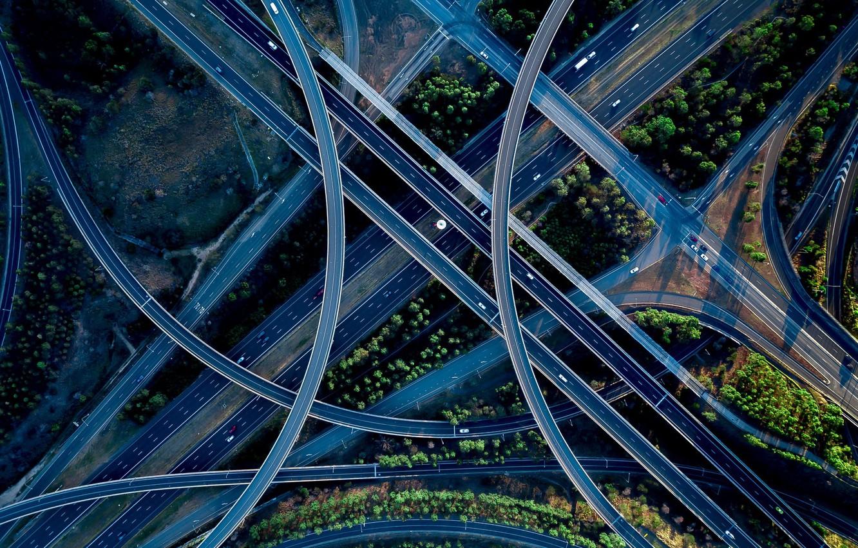 Обои дороги, машины, перекрёстки. Разное foto 6