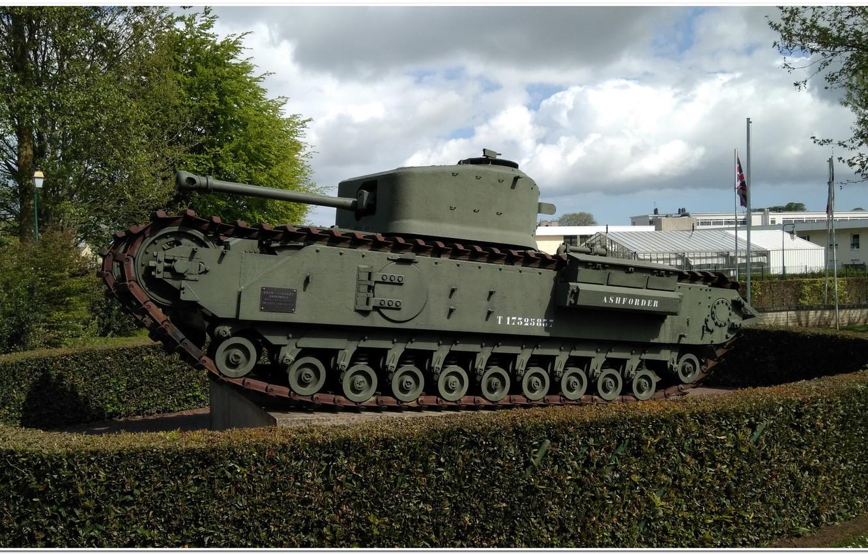 Фото обои normandie, ww2 tank, churchill