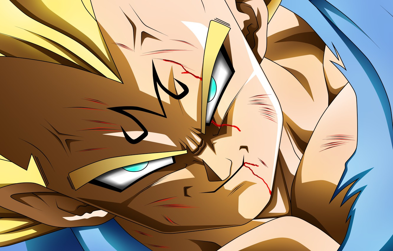 Фото обои game, alien, anime, manga, powerful, Vegeta, Dragon Ball, strong, by rmehedi, Majin Vegeta