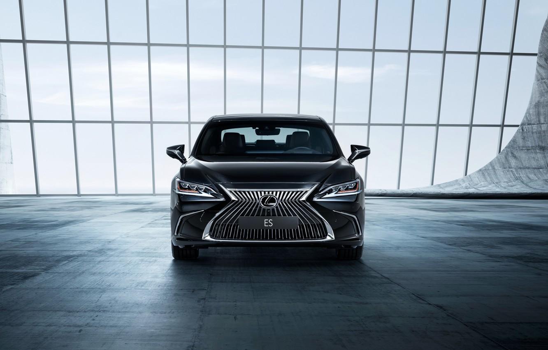 Фото обои Lexus, седан, вид спереди, 2018, ES 250