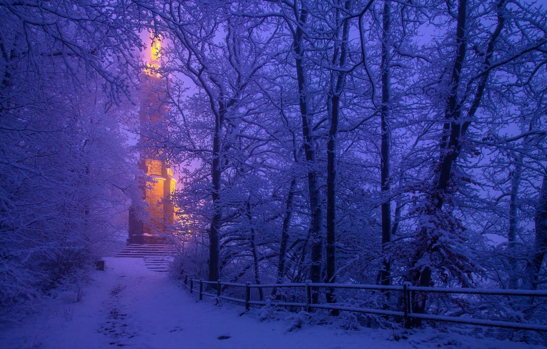 картинка зимний вечер на телефон первую очередь