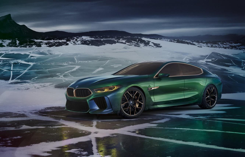 Фото обои Concept, BMW, концепт, Gran Coupe, вмб