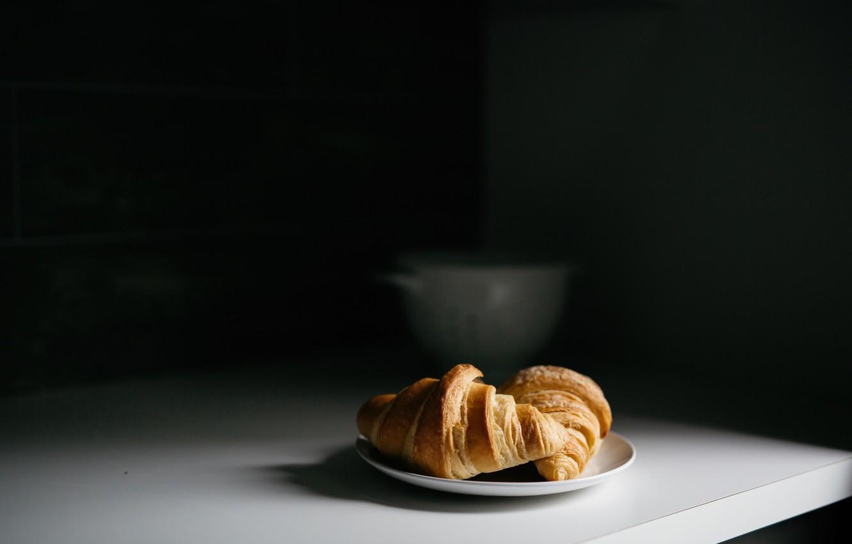 Фото обои десерт, выпечка, круаСсаны